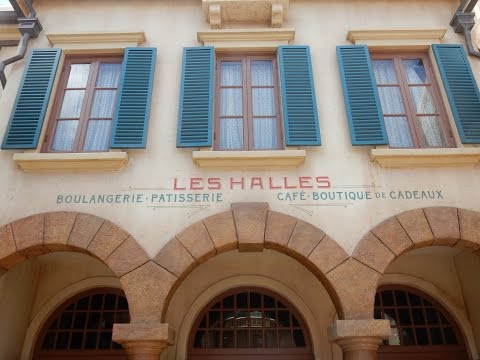 Disney World EPCOT Les Halles Bakery in France - Lunch & Review