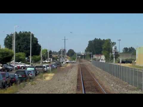 Sounder Train - Tacoma to Seattle (Timelapse)