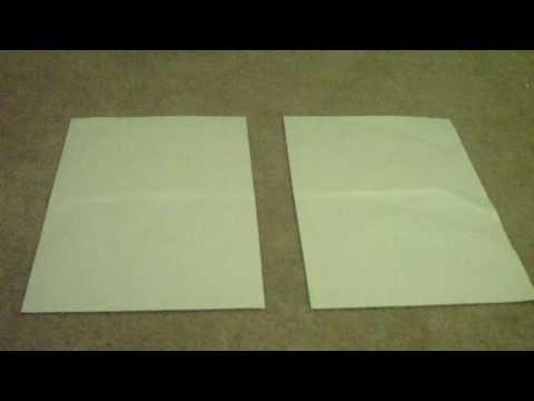how to make a paper book bag
