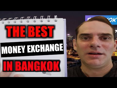 The best money exchange rates to get Thai currency in Bangkok; Super Rich.