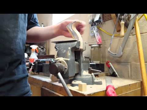 Making a Double Iron Jack Plane - Part 16 - More Handle Work
