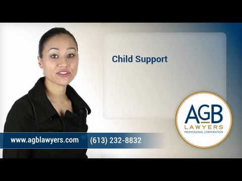 Child Support - Ottawa Family Lawyer - AGB Lawyers