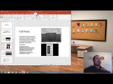 Mac ACMT Battery Training