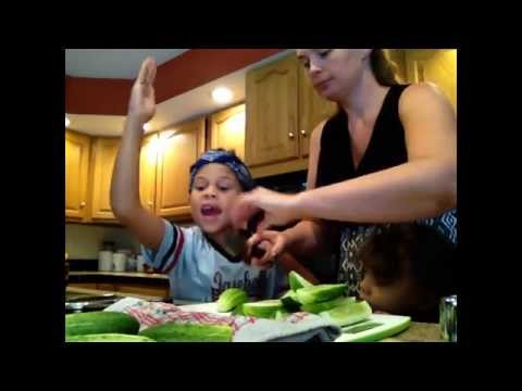 Homemade Pickles (With the Kids!)