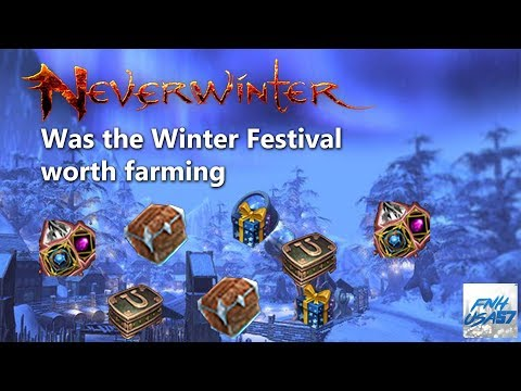 Neverwinter: Was the Winter Festival worth farming (mod 12)
