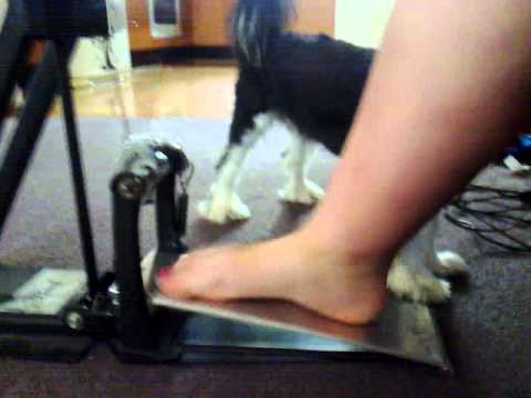Kick drum pedal homemade foot board pt 3