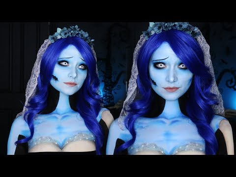 CORPSE BRIDE HALLOWEEN MAKEUP TUTORIAL | Emily