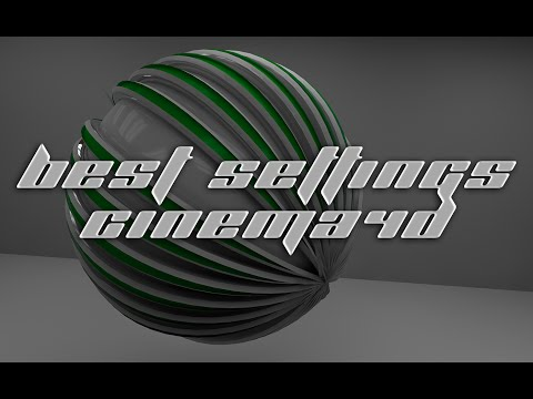 Best Cinema4d Render Settings for High Quality/Low Time Renders