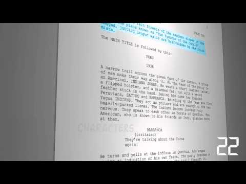 Learn to Format a Script in 60 Seconds