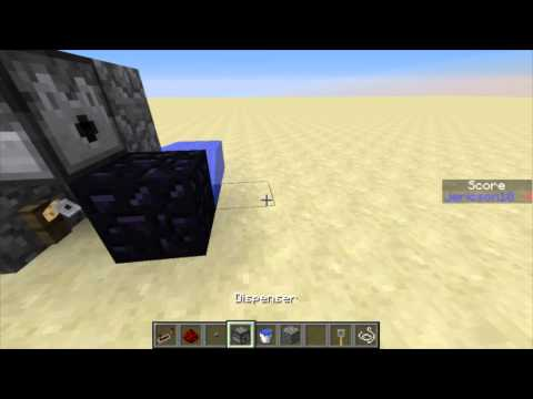 Obsidian Generators 1.7.4 2 Designs {Using String Or Redstone}