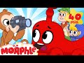 Moprhle The TRAIN My Magic Pet Morphle Cartoons For Kids Morphle TV Mila amp Morphle