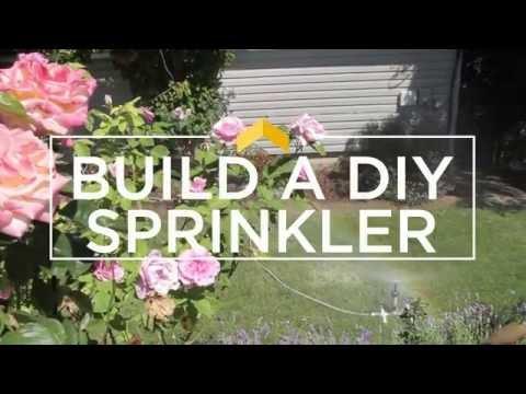 Build your own DIY sprinkler - it's easy!