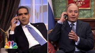 "Obama & Putin Phone Conversation on ""Tonight Show"""