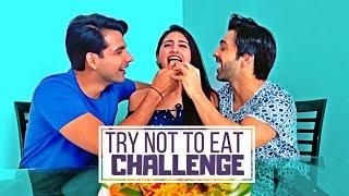 Try Not to Eat Challenge | Rimorav Vlogs