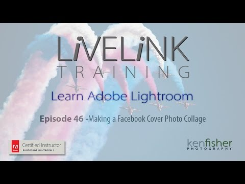 Lightroom Tutorial Making a Facebook Cover Photo Collage #46