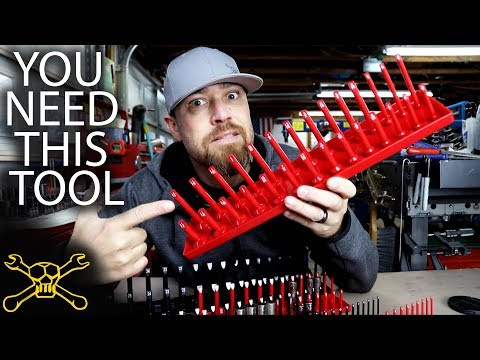 You Need This Tool - Episode 106 | Socket Organizer by Olsa Tools