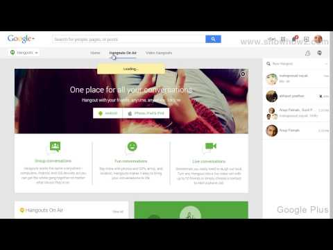 Google+ - How To See Live Hangouts On Air