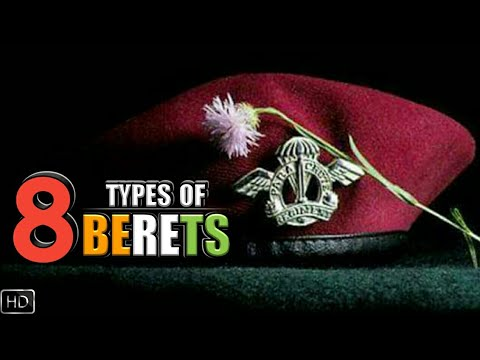 8 Berets Worn In Indian Military And What Their Colour Means - Indian Military Berets (Hindi)