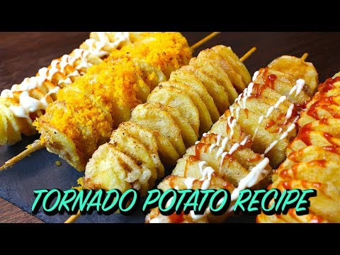 TORNADO POTATO RECIPE *COOK WITH FAIZA*