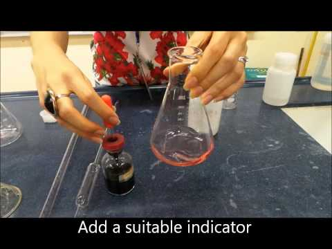 Preparation of Soluble Salt by Titration followed by heat to dryness