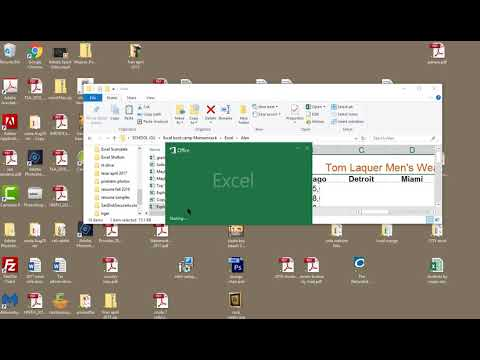 conversion of an older Excel file into 2016 format