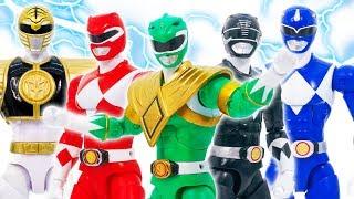Power Rangers Dinosaur & Avengers Appeared  Defeat Thanos & Venomized #Toymarvel