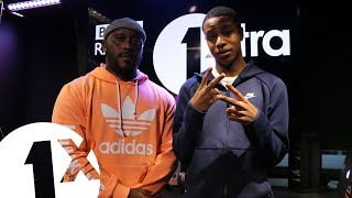 Clavish - Voice Of The Streets Freestyle W/ Kenny Allstar on 1Xtra