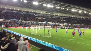 Fernando Llorente goal vs Crystal Palace