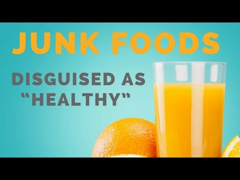 """4 """"Health Foods"""" That Are Actually Junk Foods in Disguise"""
