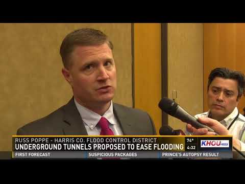Harris County taking steps to build underground tunnels for flooding