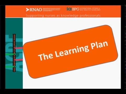 The Learning Plan