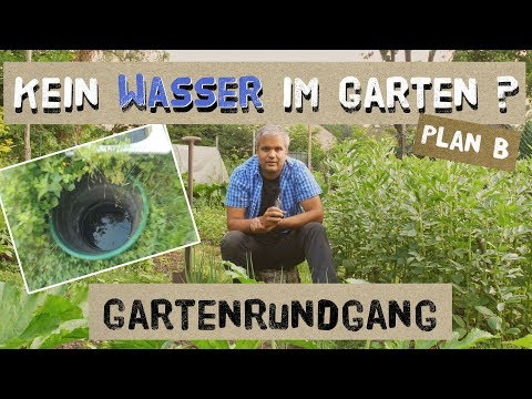 Kein Wasser im Garten? Plan B - Gartenrundgang