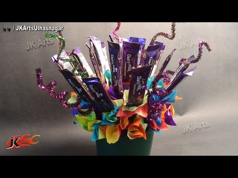 DIY Chocolate Bouquet | Valentine's Day Gift Idea | JK Arts 628