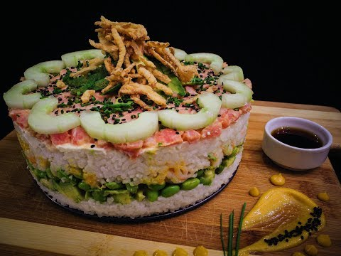 Sushi Cake | The Bacon Betches