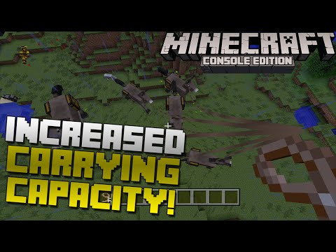 Minecraft Xbox & Playstation: How to Increase Your Carrying Capacity by 15 Times!