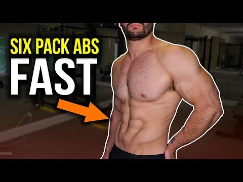 How to Get A SIX PACK Fast As HELL [SIX PACK ABS FOR SUMMER 2018]