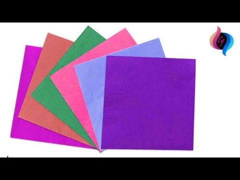 Paper craft ideas for decoration step by step - Room decoration with paper cuttings