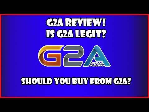 G2a Review 2017 - Is G2a Legit or A Scam?