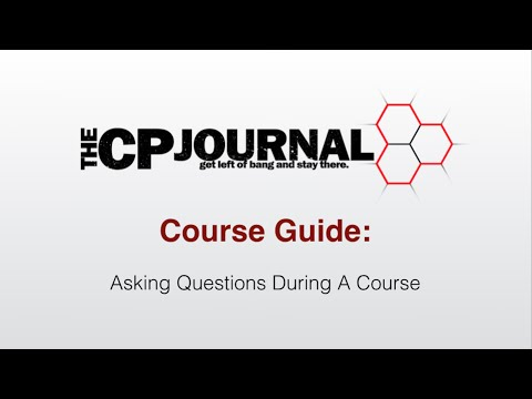 Help Video #5   Asking Questions During Class