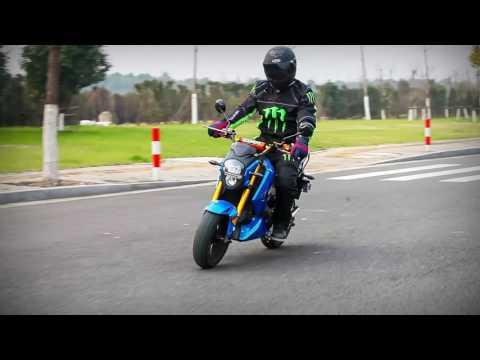 Boom BD578Z electric street bike 2000W