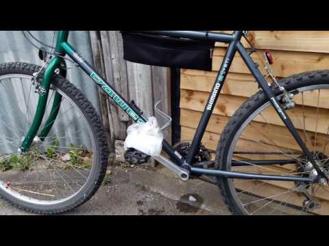 How to change a bike pedal stuck cycle pedal change