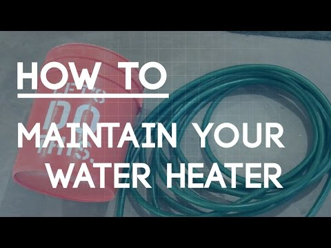 How to Drain a Hot Water Heater - Flush Your Hot Water Tank Sediment