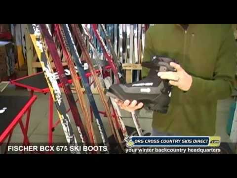 Fischer BCX 675 Backcountry Ski Boots Review Video by ORS Cross Country Skis Direct