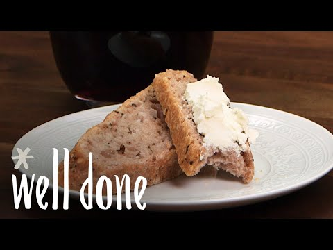Say Hello To The Easiest Bread Recipe: How To Make Wine Bread | Recipe | Well Done