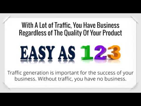 How to online traffic generation | Get your website seen :-)