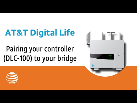 Pairing your controller (DLC-100) to your bridge | AT&T Digital Life