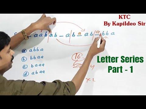 Letter Series Part - 1 (Repeated Series) in hindi    verbal reasoning By Kapildeo Sir