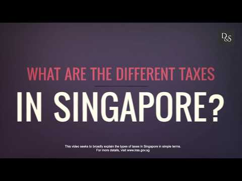What Are The Different Taxes In Singapore?
