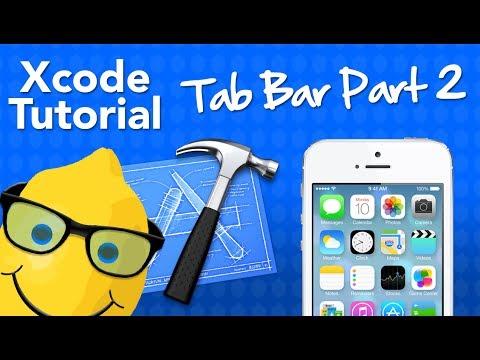XCode 5 Tutorial Tab Bar Part 2 - Tab Bar Images - Geeky Lemon Development