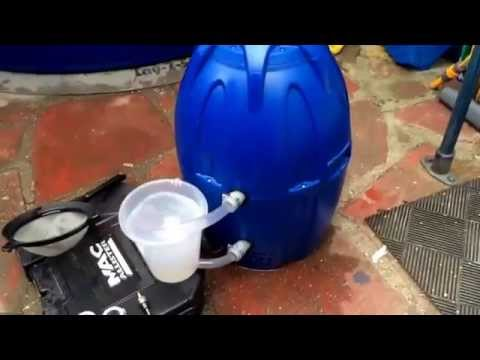 Descaling hot tub heater